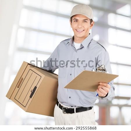 Delivering, Messenger, Delivery Person.