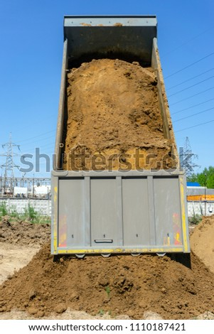 delivery of building materials #1110187421