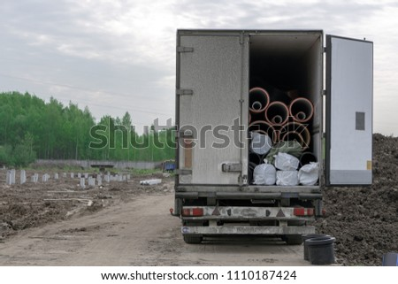 delivery of building materials #1110187424