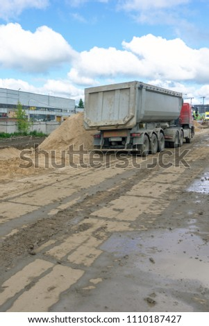 delivery of building materials #1110187427