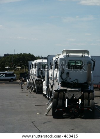 Delivery of New Trucks
