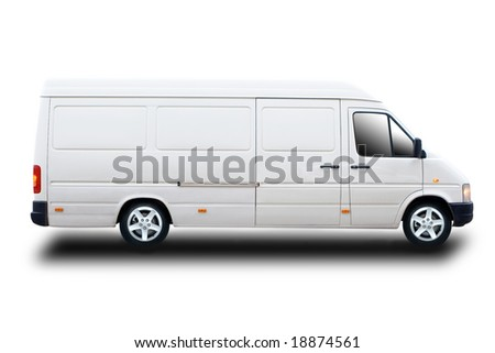Delivery or Cargo Van - stock photo
