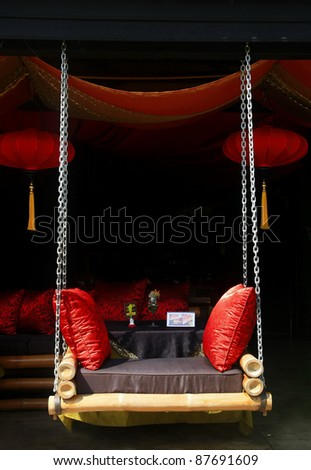 deluxe hang seat - stock photo
