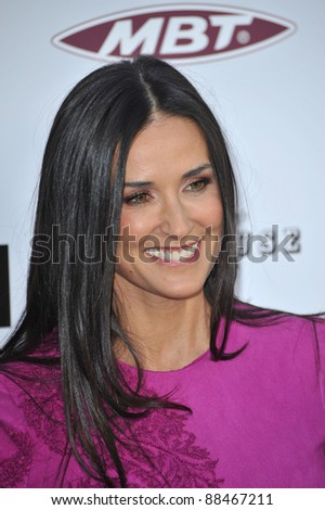 """Demi Moore at the Los Angeles premiere of her new movie """"The Joneses"""" at the Arclight Theatre, Hollywood. April 8, 2010  Los Angeles, CA Picture: Paul Smith / Featureflash"""