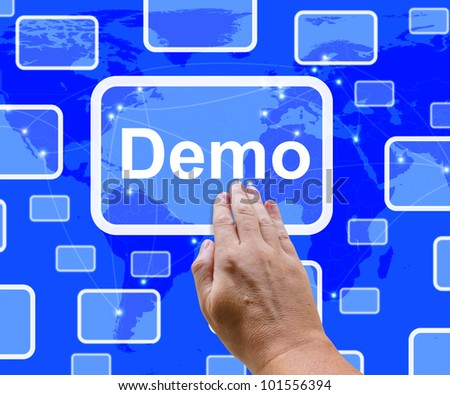 Demo Button To Download Trial Version Of Software