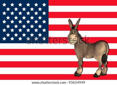 Democrat Donkey #2