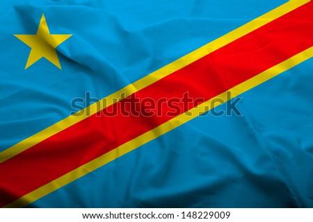 Democratic Republic Congo Flag