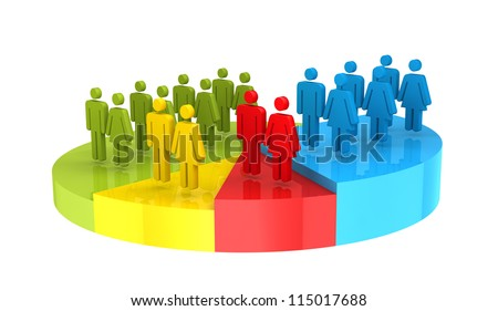 Demography Census Stockfoto ©