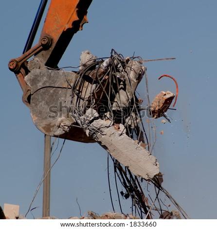 Demolition 8 - stock photo