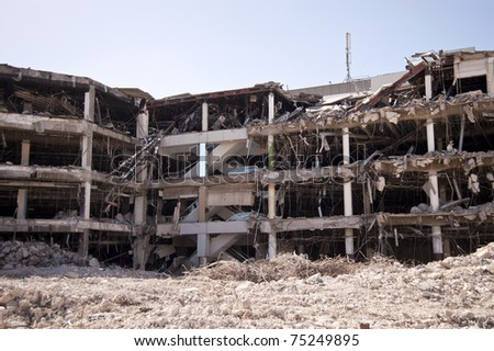 Demolition building