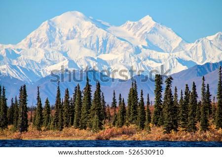 Denali is the highest mountain peak in North America, located in Alaska