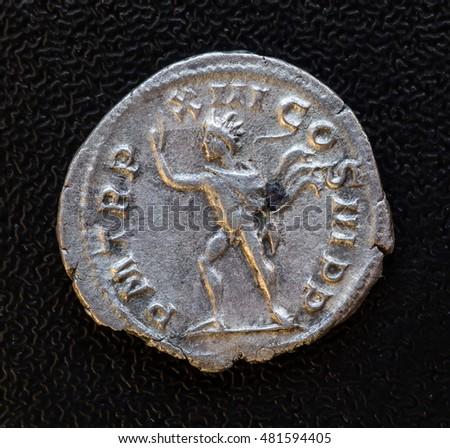 denarius of Emperor Marcus Antonius Gordian #481594405