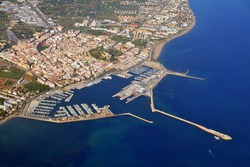 Denia, old town and harbour - Valencian Community -Spain-
