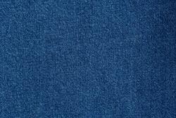 Denim blue jeans fabric. Denim background texture for design. Canvas denim. Blue jeans texture for any background.