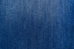 Denim blue jeans texture.