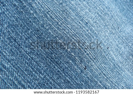 denim close up jeans blue canvas for decoration design textiles natural material cotton material for clothes texture of fabric background #1193582167