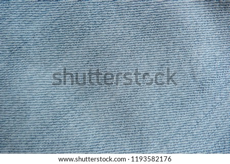 denim close up jeans blue canvas for decoration design textiles natural material cotton material for clothes texture of fabric background #1193582176