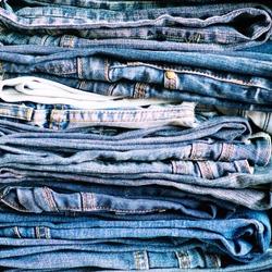 Denim. Jeans background. Denim jeans texture or denim jeans background!