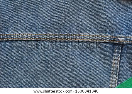 Denim. Jeans background. Denim jeans texture or denim jeans background.Blue denim pattern.