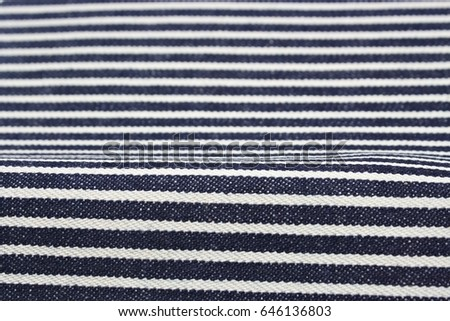denim jeans hickory Focus some point , background and texture  #646136803