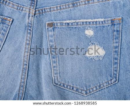 Denim texture. Denim background. Denim jeans. Denim fabric.