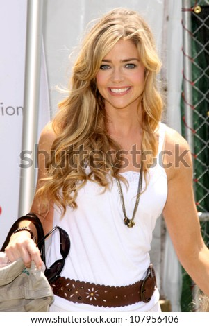 """Denise Richards  at """"A Time For Heroes Celebrity Carnival"""" benefitting the Elizabeth Glaser Pediatric AIDS Foundation. Wadsworth Theater, Los Angeles, CA. 06-08-08"""