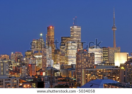 Densely Packed Toronto