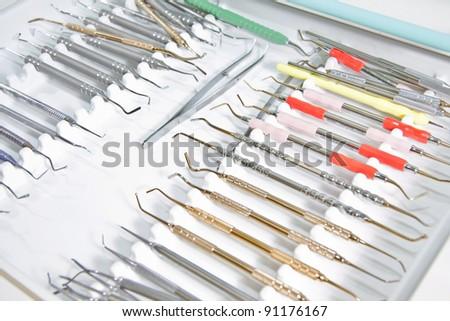 Dental clinic. Medical equipment.