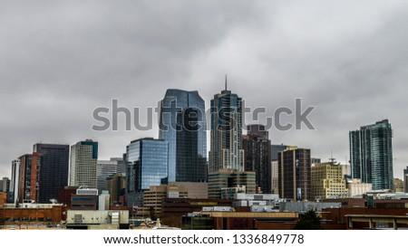 Denver City Skyline Color