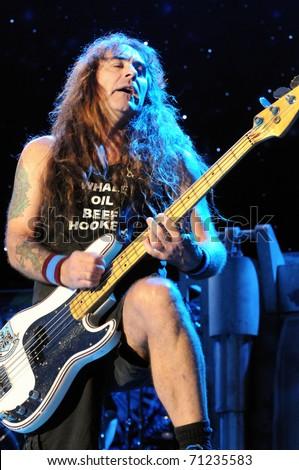 Denver June 14 Steve Harris Bassist For The Heavy Metal