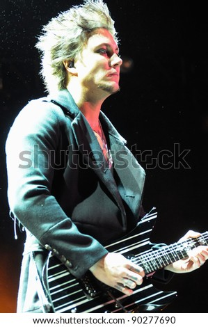 Denver October 05 Guitarist Synyster Gates Of The Heavy