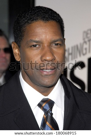 Denzel Washington at THE INSIDE MAN Premiere, The Ziegfeld Theatre, New York, NY, March 20, 2006