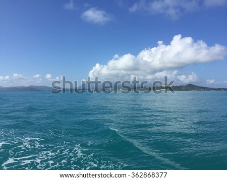 Departing Fajardo, PR to Icacos.  Sailing in Paradise #362868377