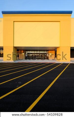 Department store entrance