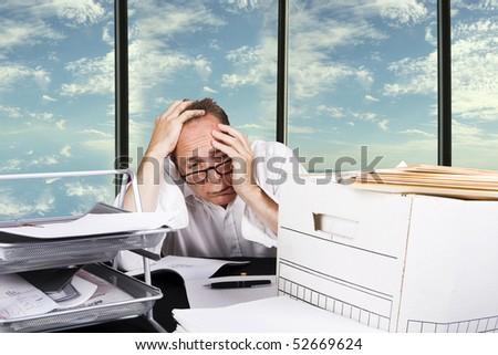 depressed at work