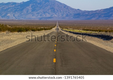 Depth of Field Road, Mysterious and Mysterious Death Valley, California