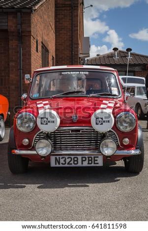 Derbyshire England May Classic Car Show British Leyland - Car show england