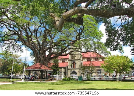 Derek Walcott Square in Castries, St. Lucia Stock fotó ©