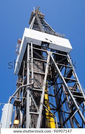 Derick of jack up drilling rig