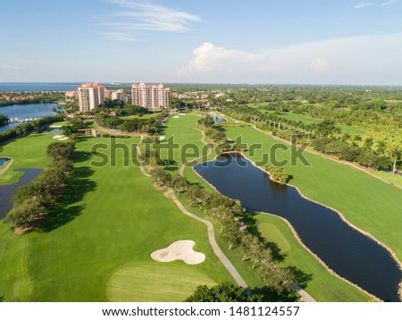 Derring Bay Aerial Photos,   High quality aerials shots of community with an attractive golf camp in Miami Florida.  #1481124557