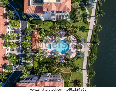 Derring Bay Aerial Photos,   High quality aerials shots of community with an attractive golf camp in Miami Florida.  #1481124563