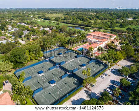 Derring Bay Aerial Photos,   High quality aerials shots of community with an attractive golf camp in Miami Florida.  #1481124575