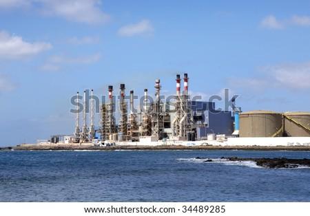 Desalination Plant in Lanzarote