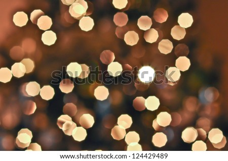 desaturated blurred abstract background Christmas lights