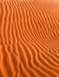 Desert background in silent place