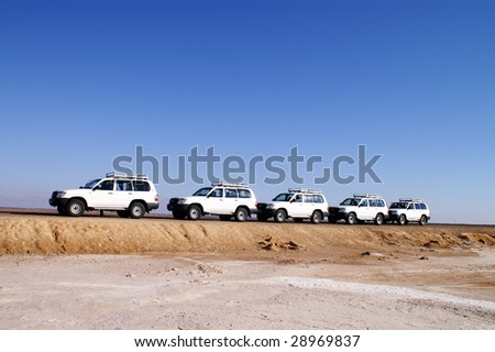 desert car expedition