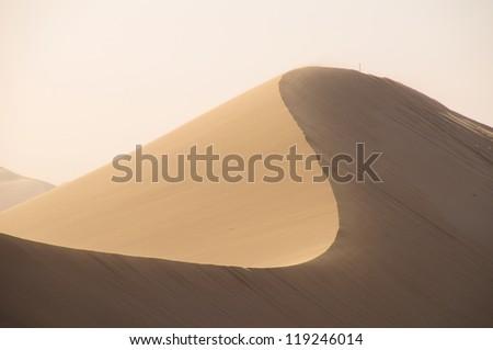 Desert dunes in Namib desert, Namibia, Africa
