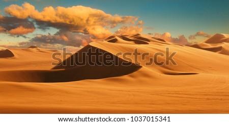 desert landscape dune