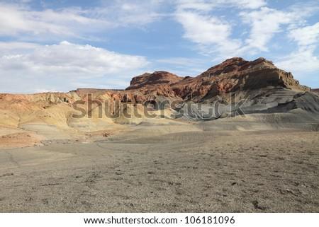 Desert landscape in Page, Arizona