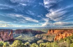 Desert Landscape in southwest Colorado